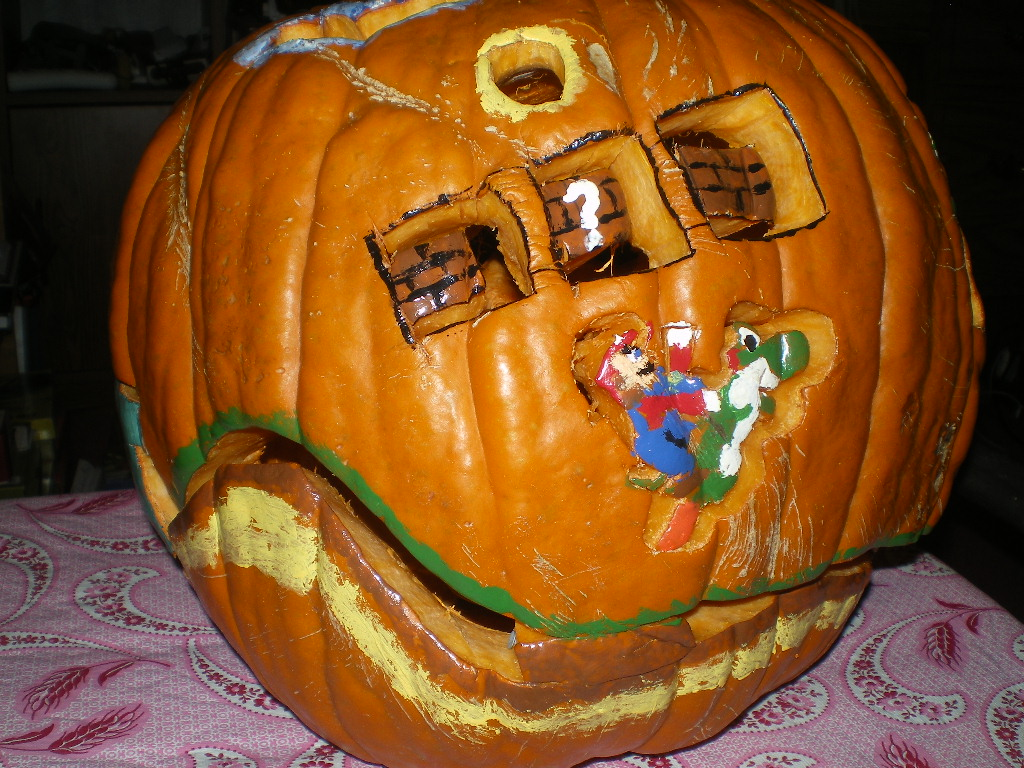 New Super Mario Bros Wii Pumpkin On Paul Gale Network Front Click Here For