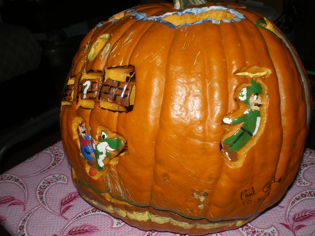 New Super Mario Bros Wii Pumpkin On Paul Gale Network Right Click Here For