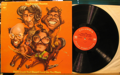 Firesign Theatre - Don't Crush That Dwarf, Hand Me The Pliers LP