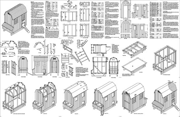 Yam coop easy to chicken coop plans examples for Online barn designer