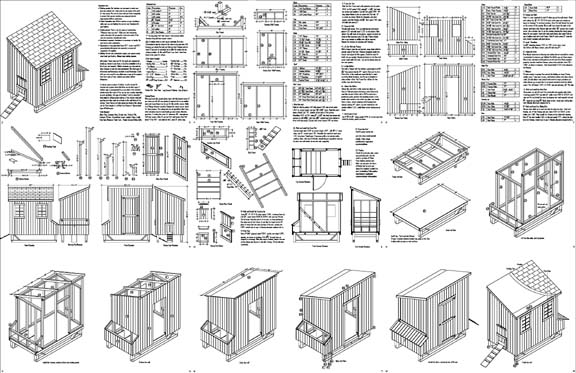 photograph relating to Free Printable Chicken Coop Plans identified as Do-it-yourself chick coop: Chook coop packages 5 hens
