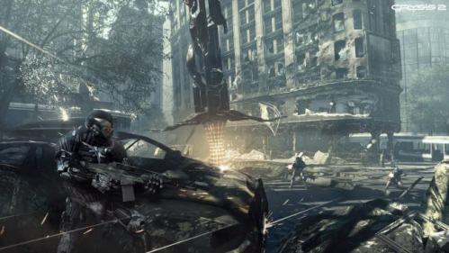 Crysis 2 on Paul Gale Network