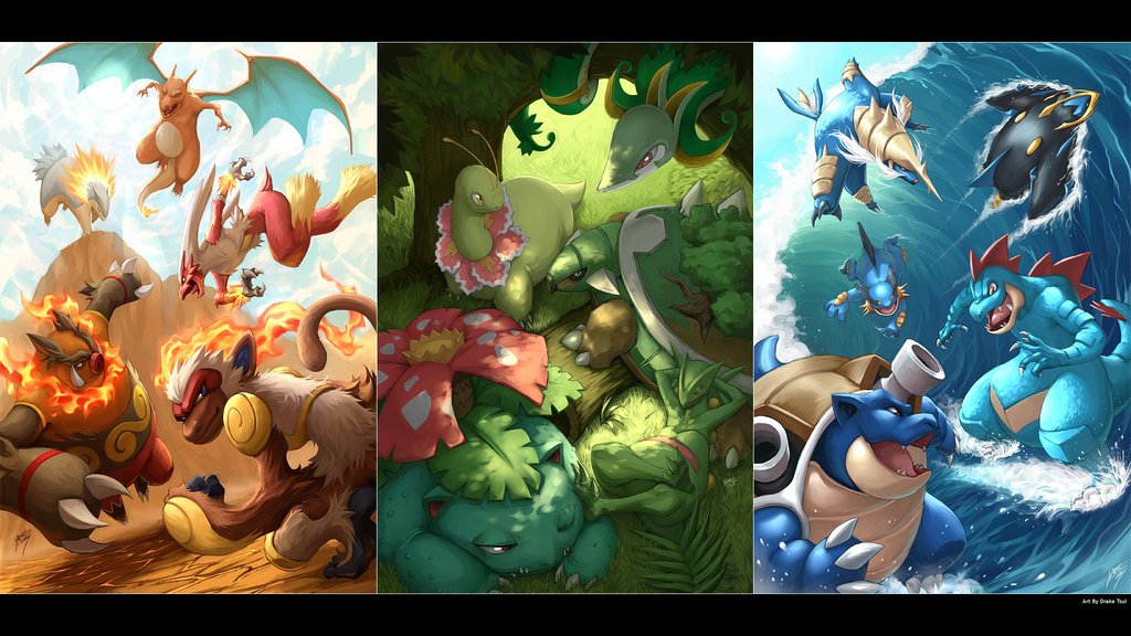 Great job and here s to more Pokemon Starters