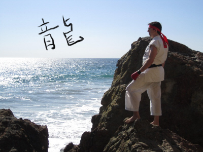 Live action Ryu from Street Fighter on Paul Gale Network