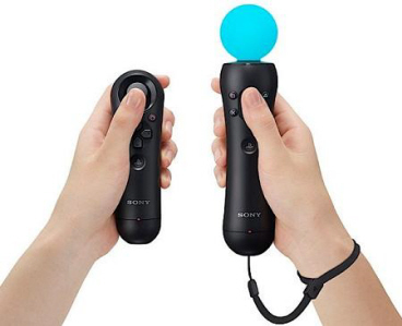 PlayStation Move on Paul Gale Network