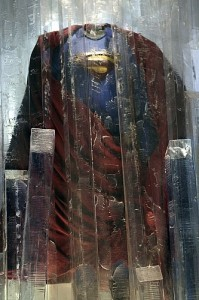 Superman Returns suit in Smallville