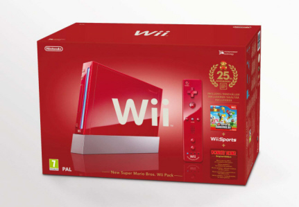 Red Wii box