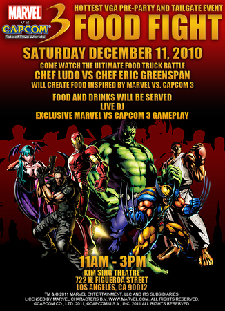 Marvel vs. Capcom 3 launch party on Paul Gale Network