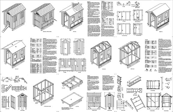 Chicken coop plans step by step ~ nellcolas