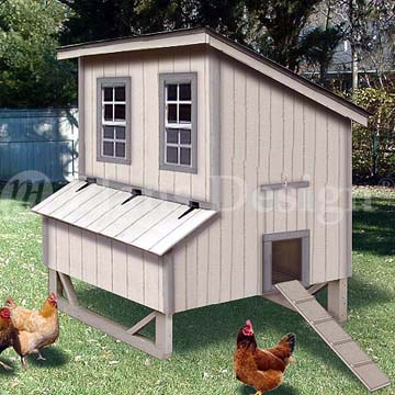 Just coop chicken coop for 6 chickens learn how for Small chicken coop building plans