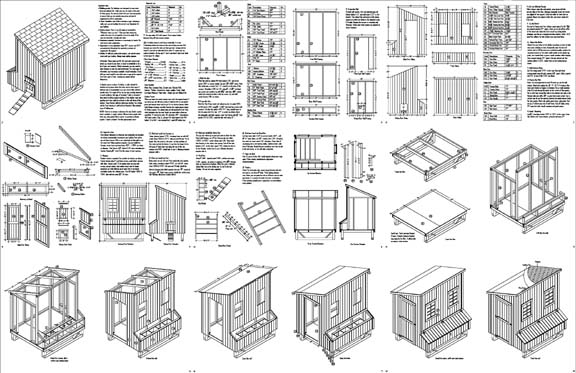 Hens plans chicken coop plans material list for Free chicken coop designs plans