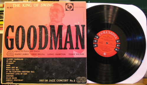 Benny Goodman King Of Swing Records Lps Vinyl And Cds