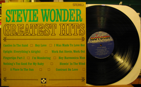 Stevie Wonder - Greatest Hits Record