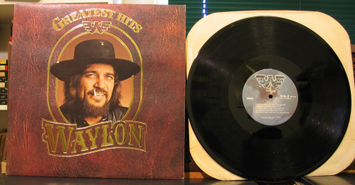 Waylon Jennings Greatest Hits Records Lps Vinyl And Cds