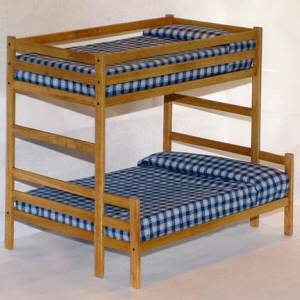 Twin Over Full Bunk Bed Woodworking Plans / Patterns | eBay