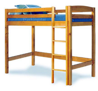 Twin Loft Bed Woodworking Plans Buy It Now Get It Fast | eBay
