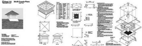 pdf diy cupola plans download birch plywood lowes