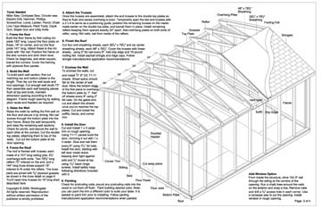 Wooden Shed 12x16 Storage Shed Plans