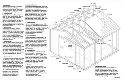 Garden Sheds 12 X 12 6x8 garden shed plans 12x16 garden shed plans ~ home plan and