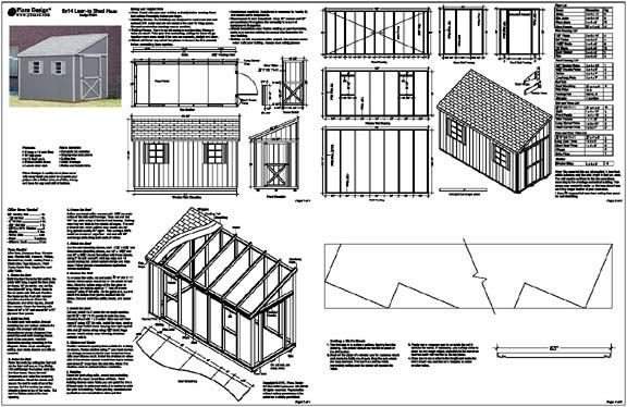 Lean To Shed Roof Plan Lidya