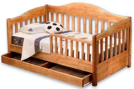 Toddler Sleigh Bed Woodworking Furniture Plans/patterns used, new