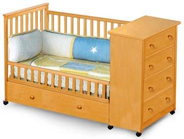 about Baby Convertible Captain's Crib Woodworking Plans On Paper